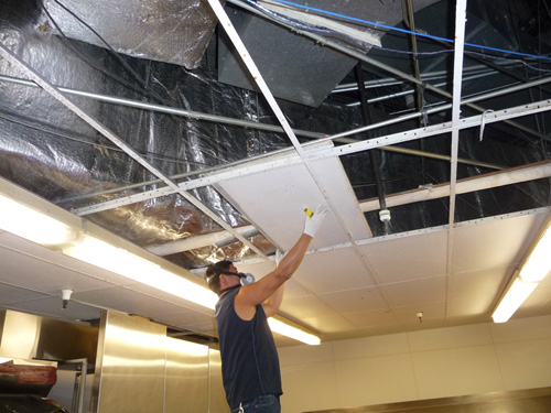 Blue Source Ceiling Cleaning And Repair Services In